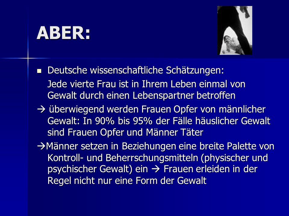 ABER: Deutsche wissenschaftliche Schätzungen:
