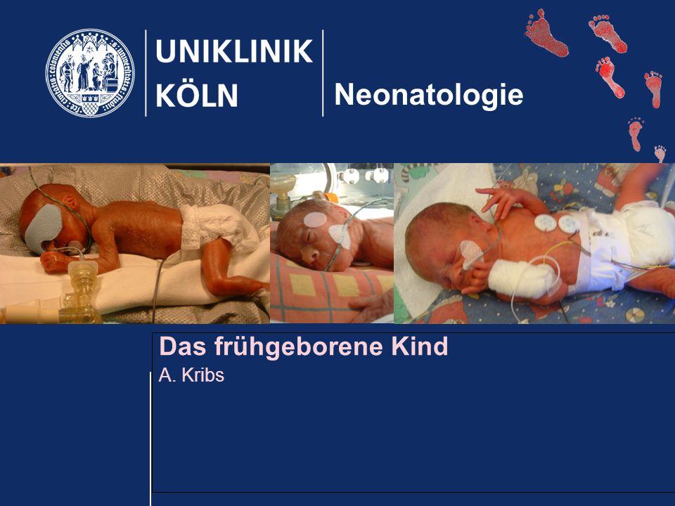 Das frühgeborene Kind A. Kribs