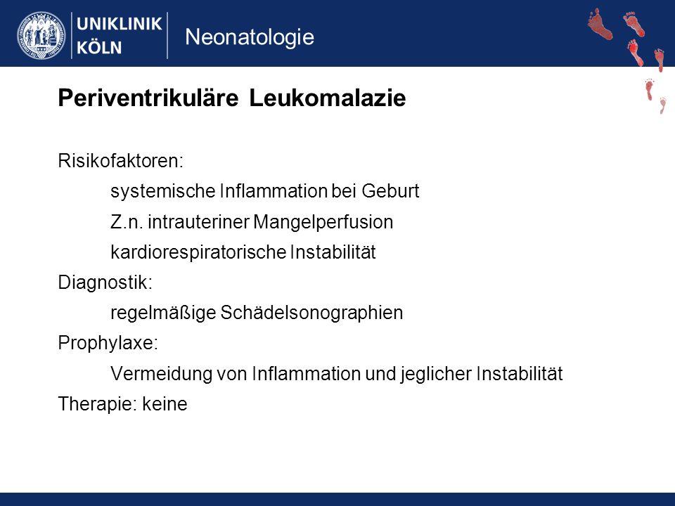 Periventrikuläre Leukomalazie