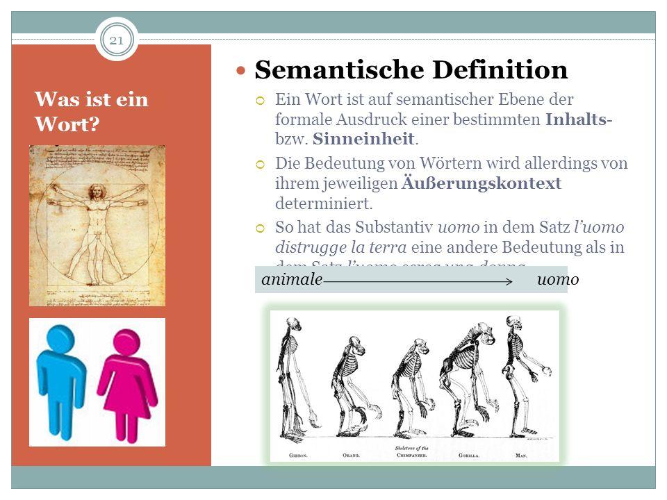 Semantische Definition