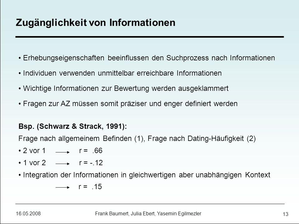 Zugänglichkeit von Informationen