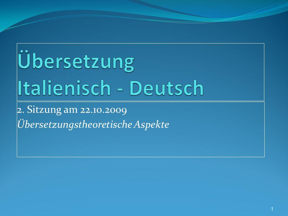 Bersetzung italienisch deutsch ppt video online for Ubersetzung deutsch italienisch