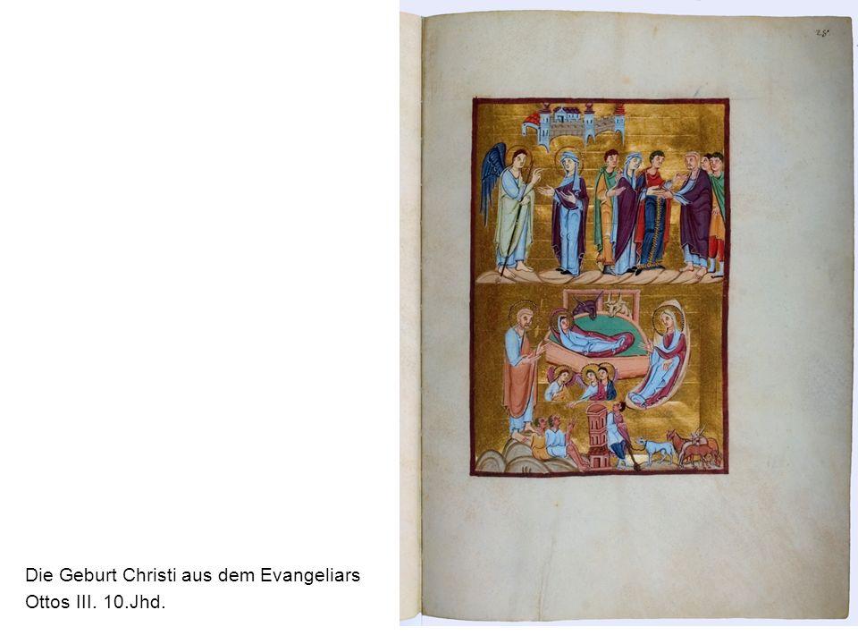 Die Geburt Christi aus dem Evangeliars