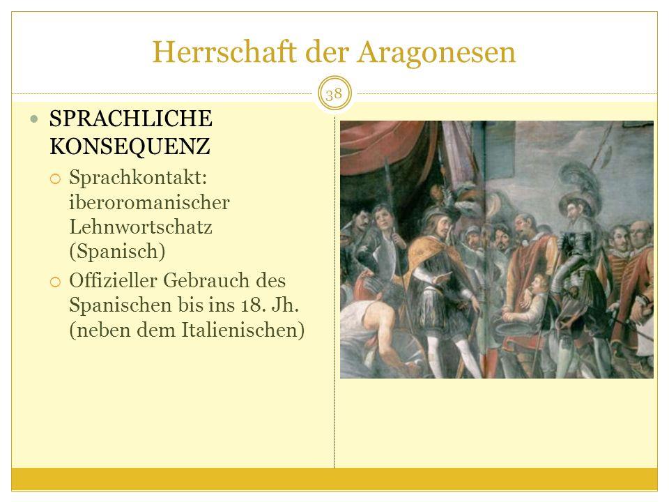 Herrschaft der Aragonesen