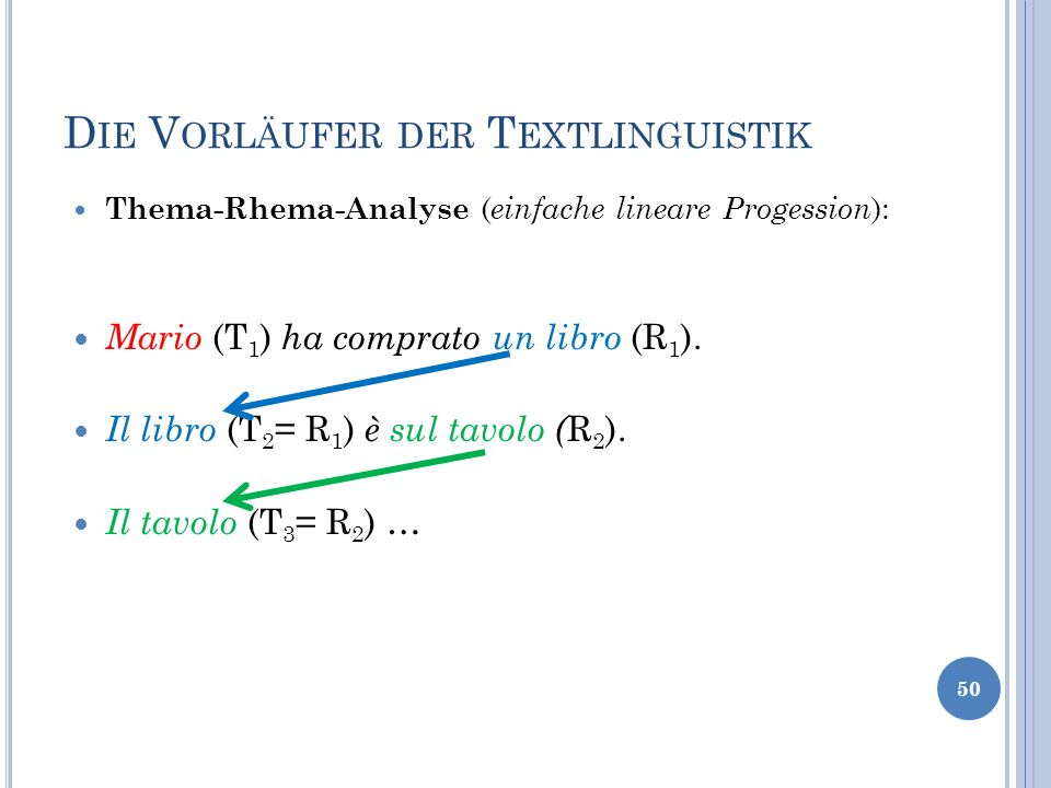 Die Vorläufer der Textlinguistik