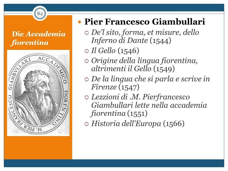 Die Accademia fiorentina