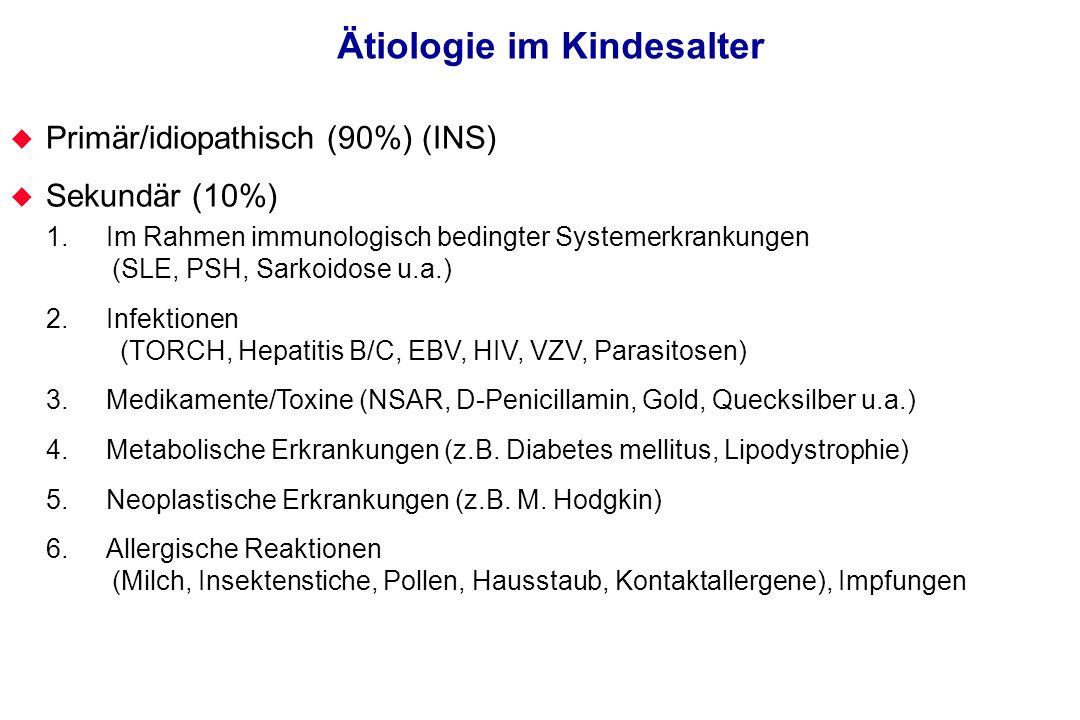 Ätiologie im Kindesalter