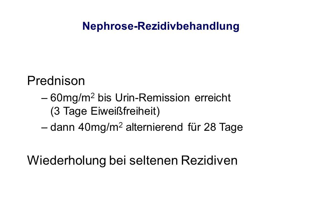 Nephrose-Rezidivbehandlung