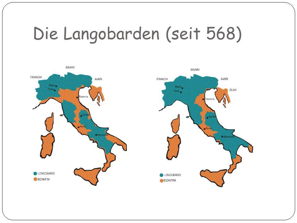 Die Langobarden (seit 568)