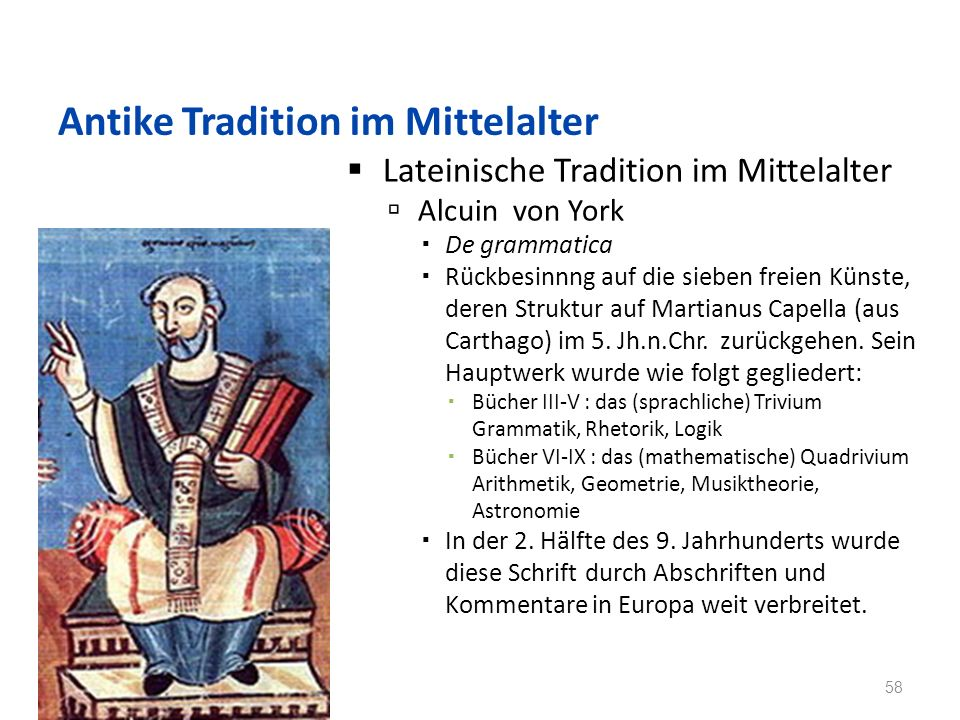 Antike Tradition im Mittelalter