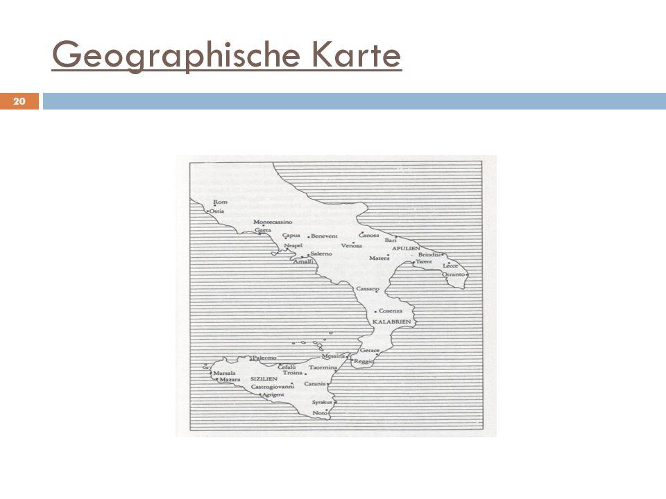 Geographische Karte