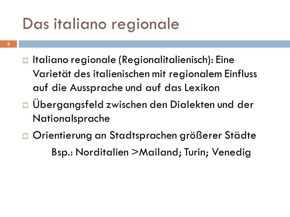 Das italiano regionale