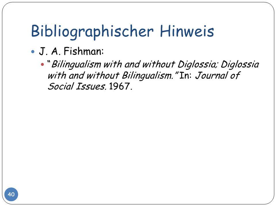 Bibliographischer Hinweis