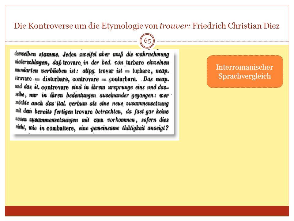 Interromanischer Sprachvergleich
