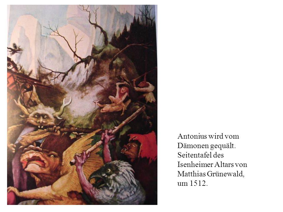 Antonius wird vom Dämonen gequält