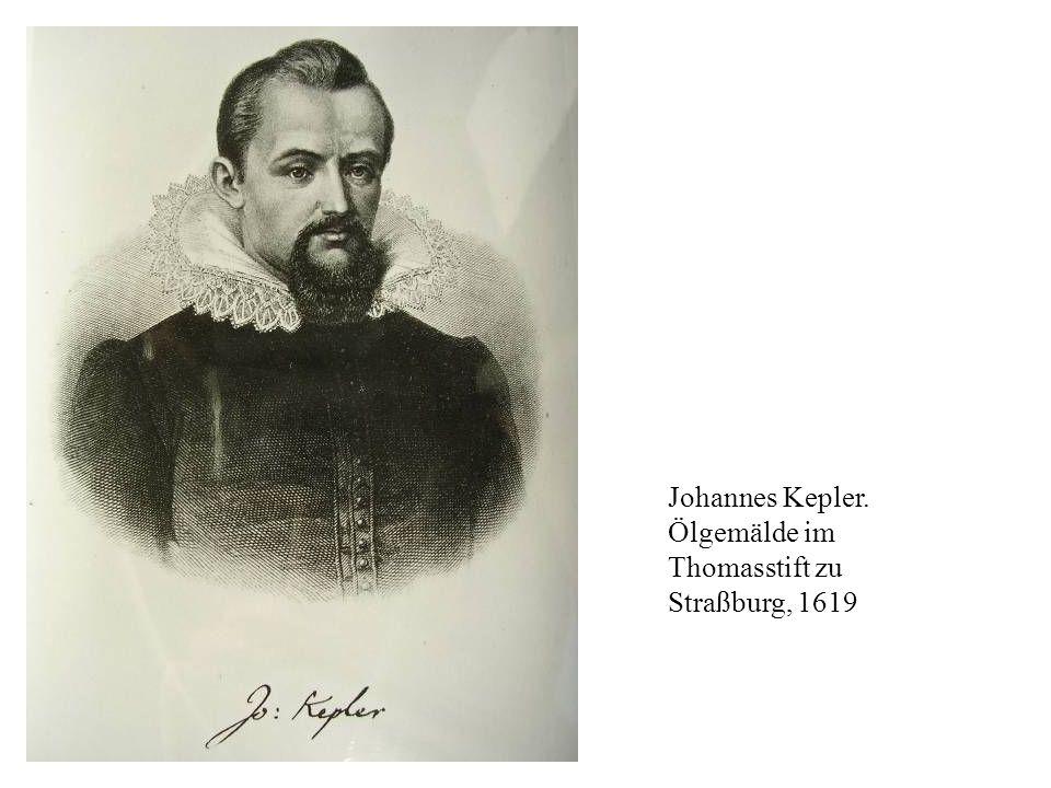 Johannes Kepler. Ölgemälde im Thomasstift zu Straßburg, 1619
