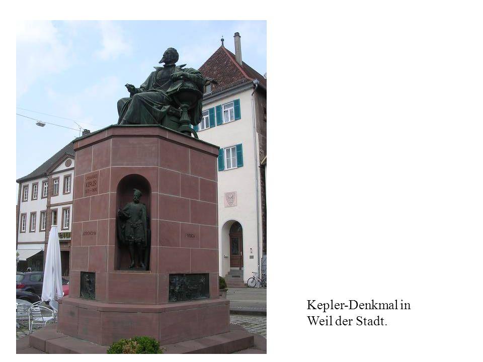 Kepler-Denkmal in Weil der Stadt.