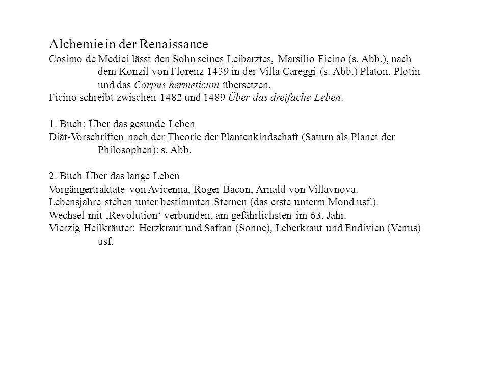 Alchemie in der Renaissance