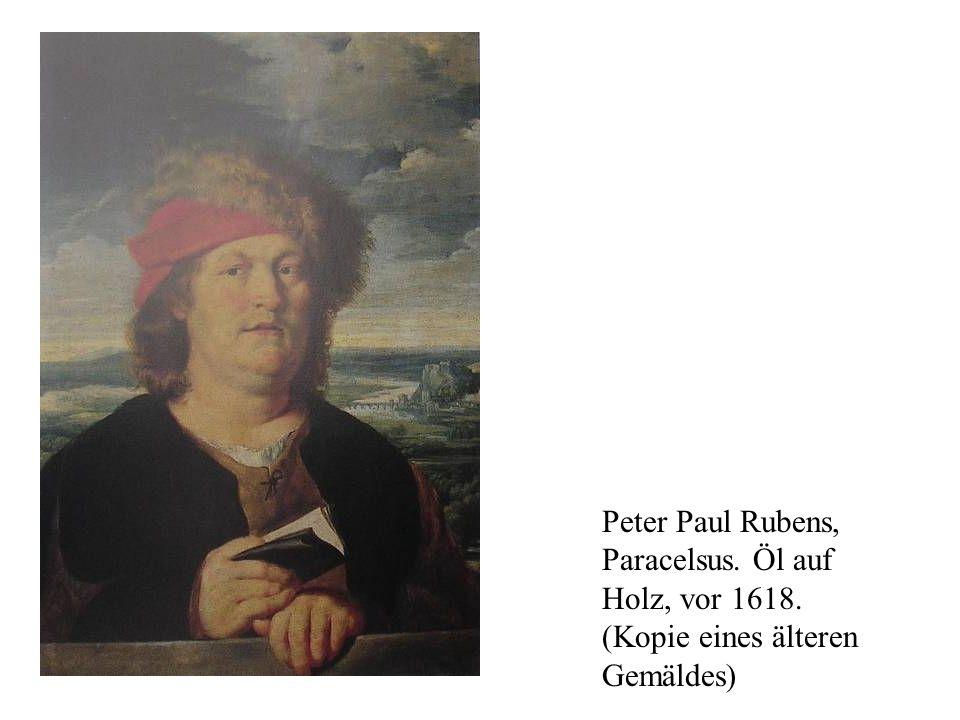 Peter Paul Rubens, Paracelsus. Öl auf Holz, vor 1618