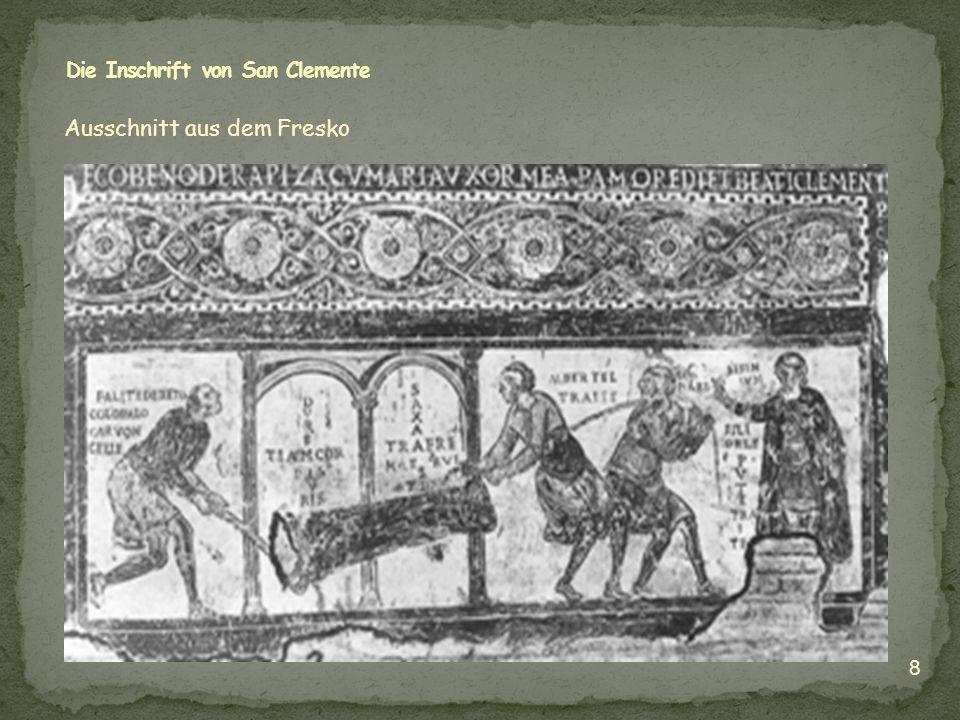 Die Inschrift von San Clemente