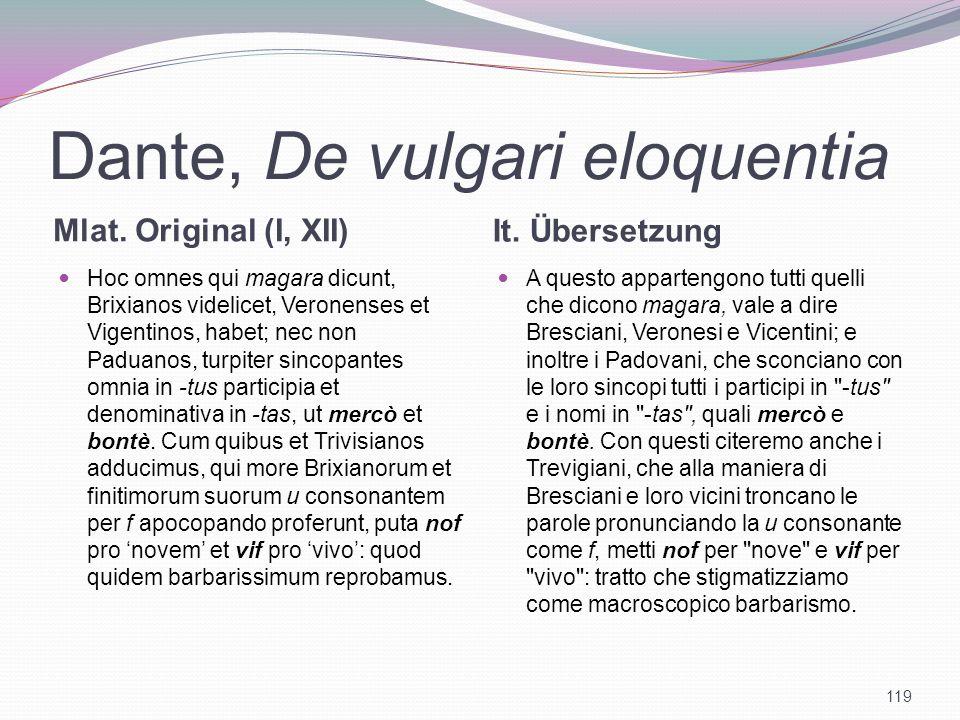 Dante, De vulgari eloquentia