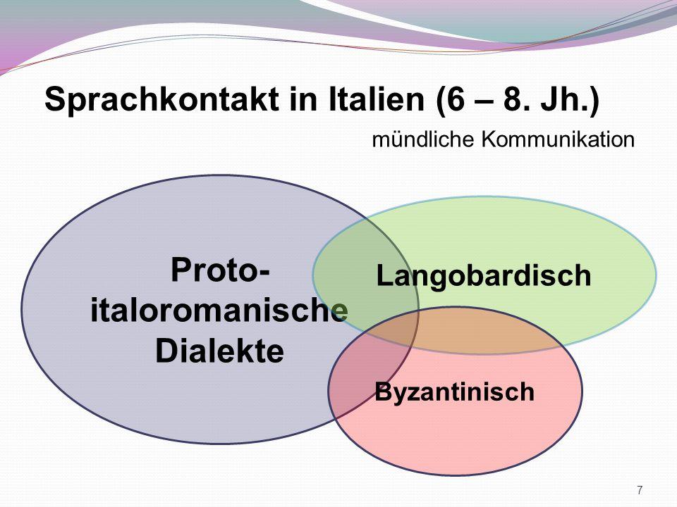 Proto-italoromanische