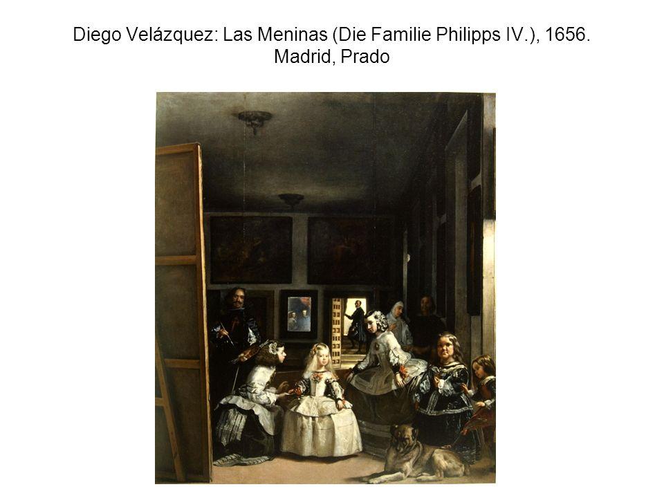 Diego Velázquez: Las Meninas (Die Familie Philipps IV. ), 1656