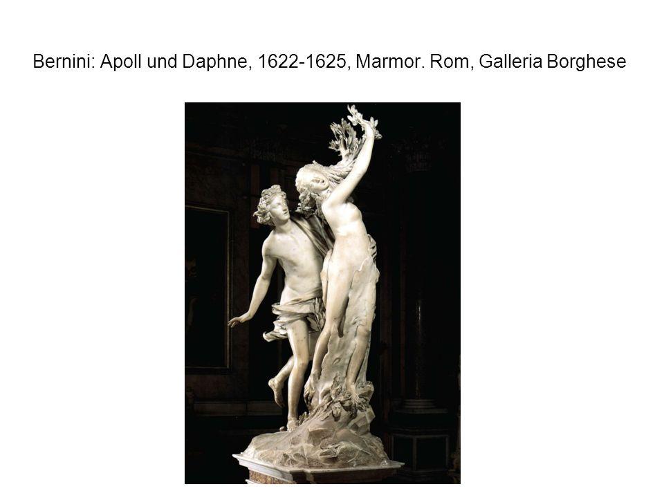 Bernini: Apoll und Daphne, 1622-1625, Marmor. Rom, Galleria Borghese