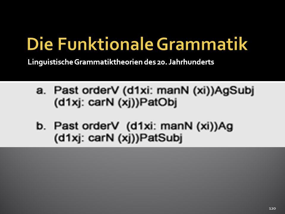 Die Funktionale Grammatik
