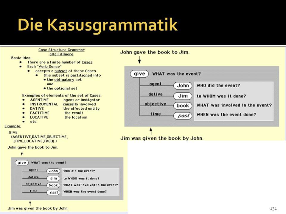 Die Kasusgrammatik