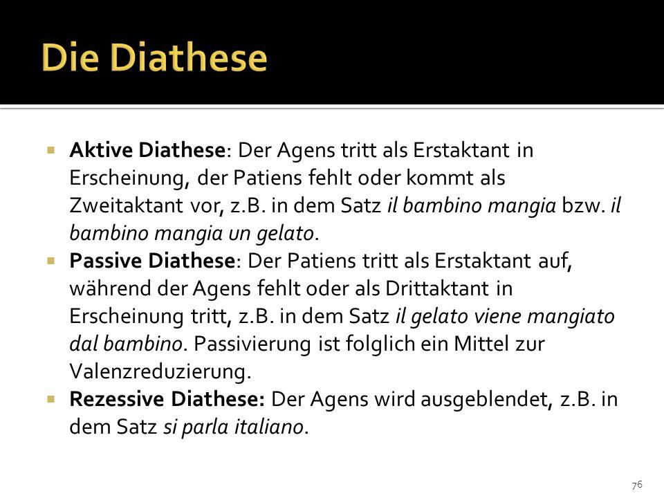 Die Diathese