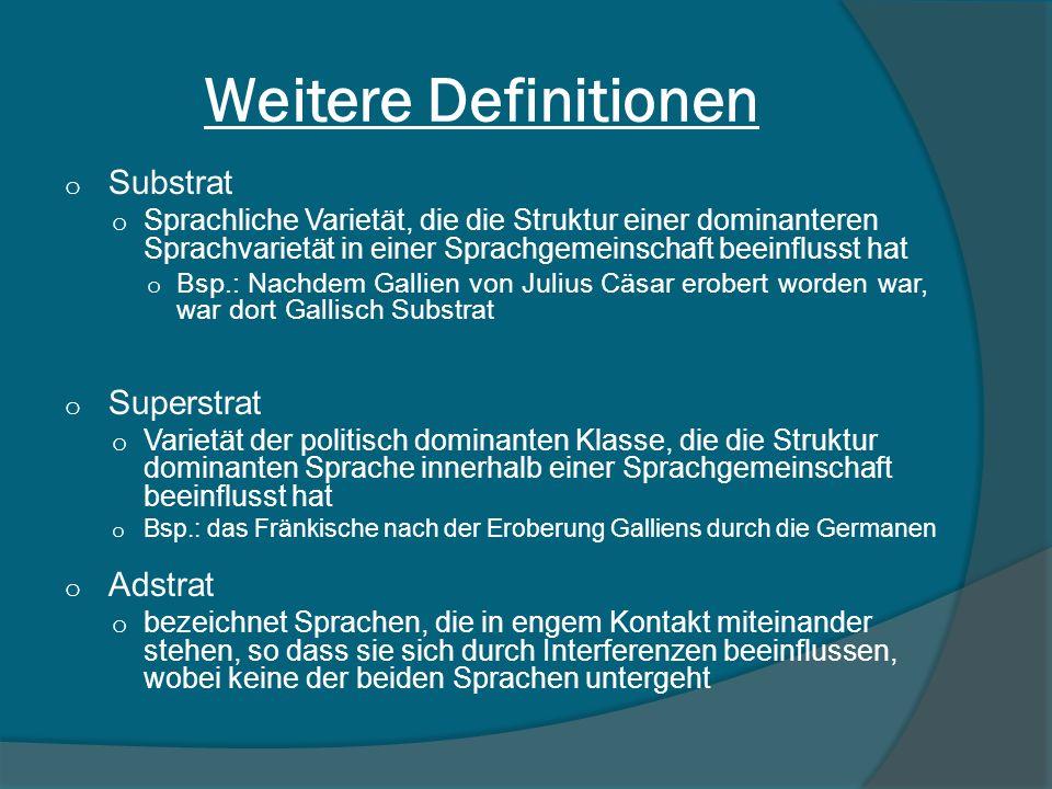 Weitere Definitionen Substrat Superstrat Adstrat