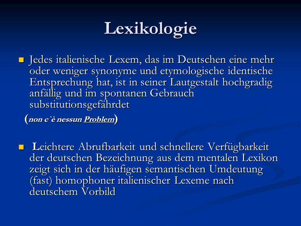 Lexikologie