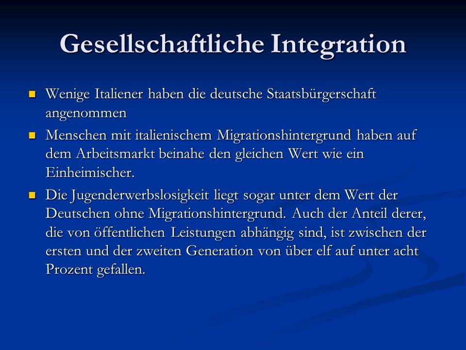 Gesellschaftliche Integration