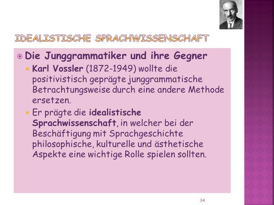 Idealistische Sprachwissenschaft