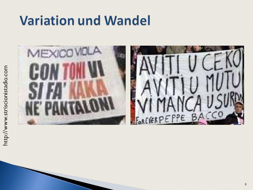 Variation und Wandel http://www.striscionistadio.com