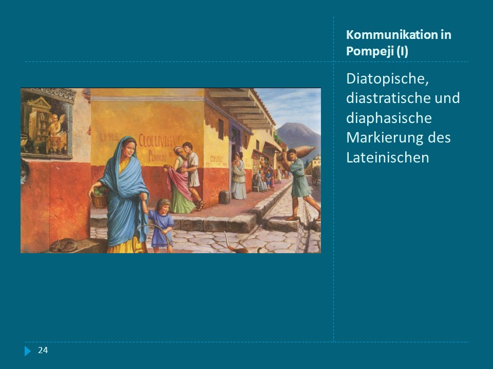 Kommunikation in Pompeji (I)