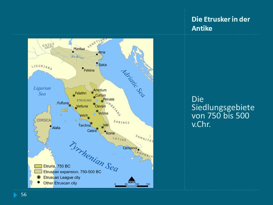 Die Etrusker in der Antike