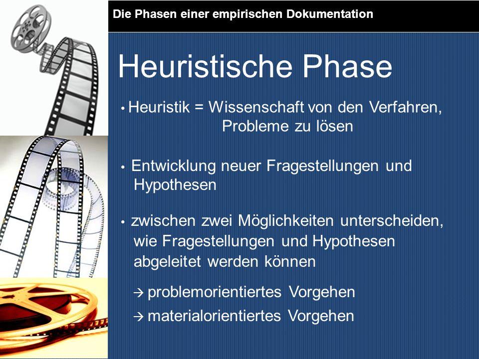 Heuristische Phase Probleme zu lösen Hypothesen