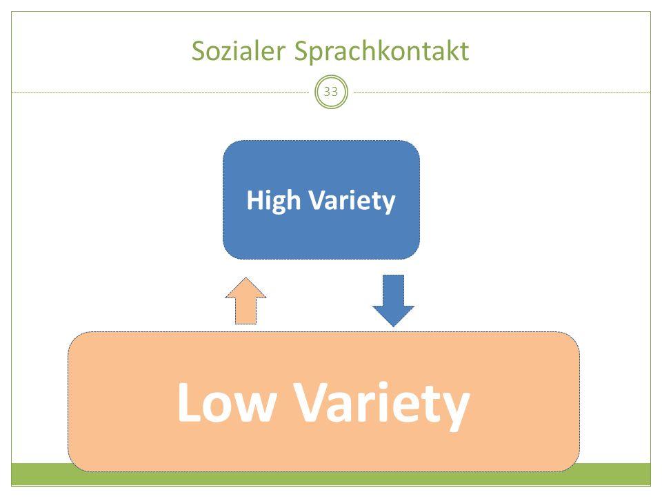 Sozialer Sprachkontakt