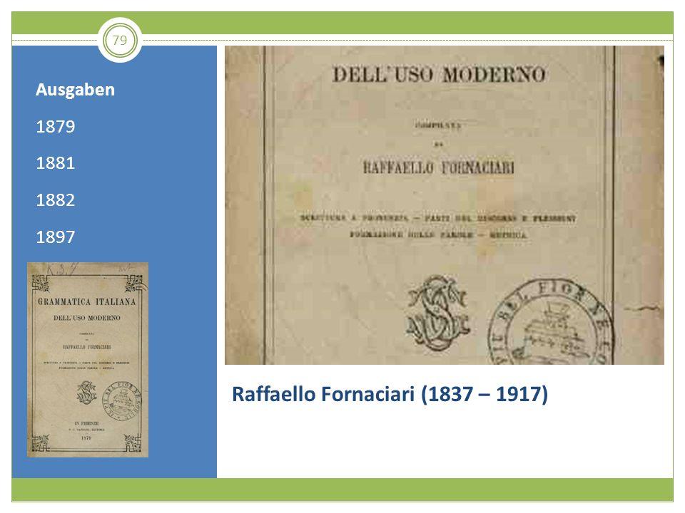 Raffaello Fornaciari (1837 – 1917)