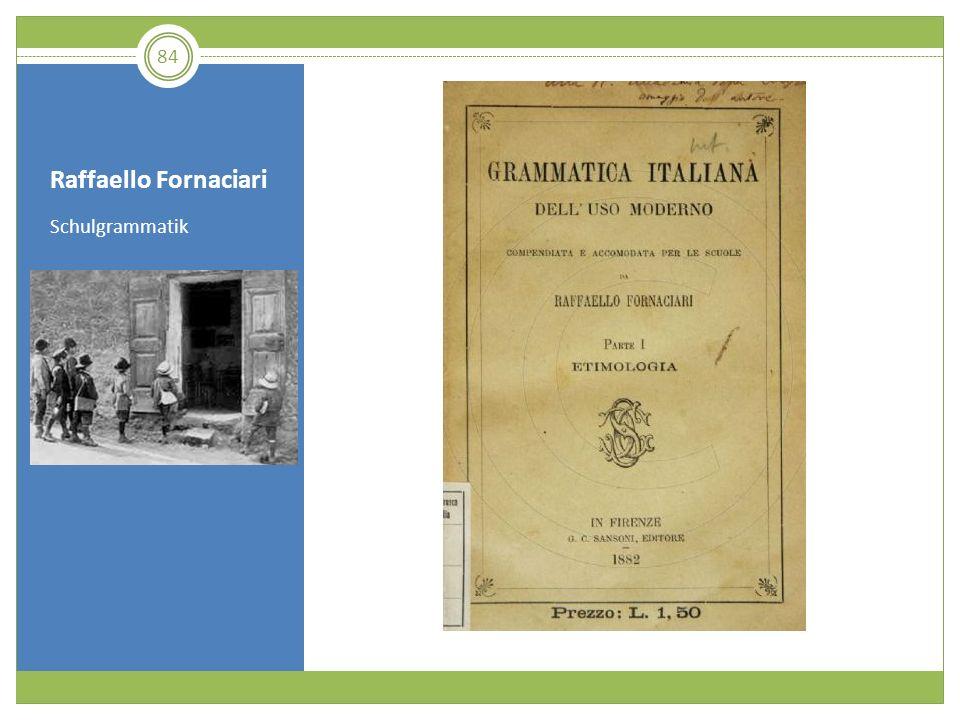 Raffaello Fornaciari Schulgrammatik