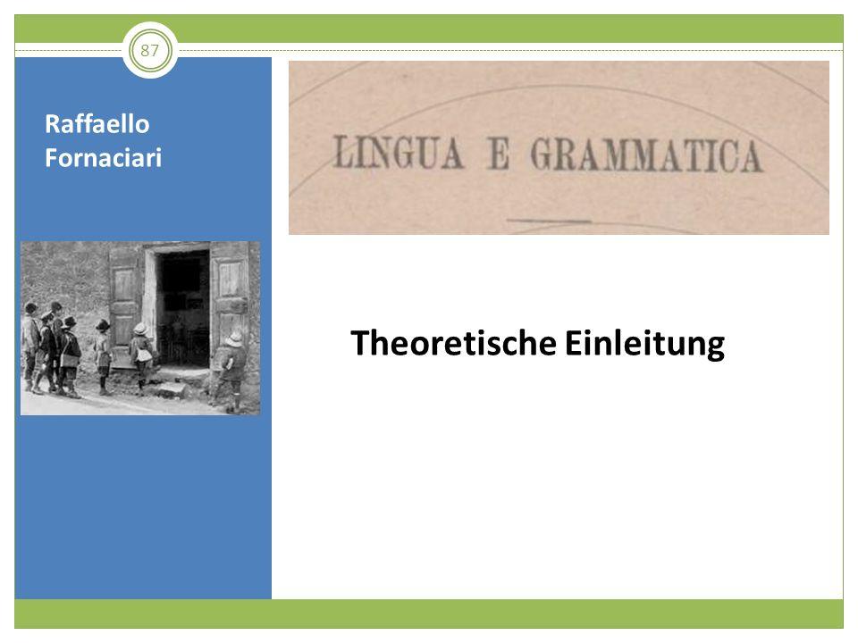 Theoretische Einleitung