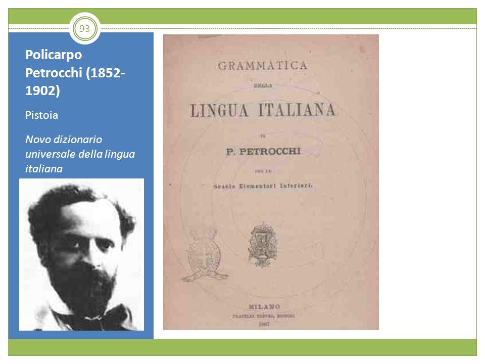 Policarpo Petrocchi (1852-1902)