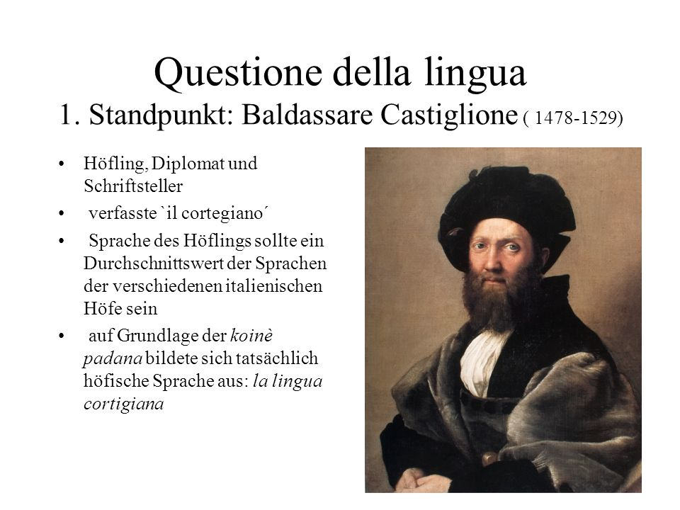 Questione della lingua 1