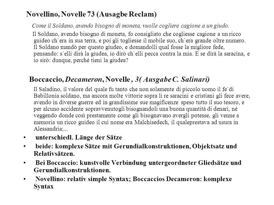 Novellino, Novelle 73 (Ausagbe Reclam)