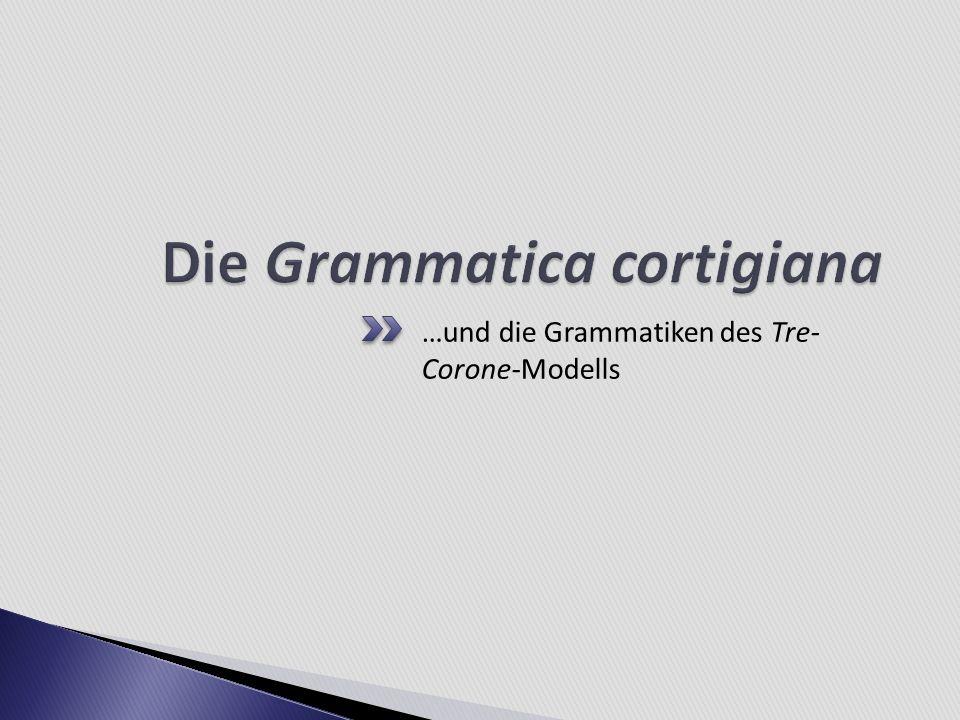 Die Grammatica cortigiana