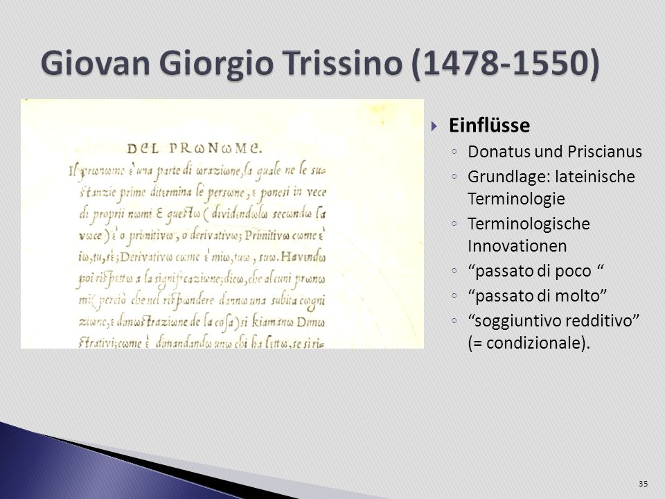 Giovan Giorgio Trissino (1478-1550)