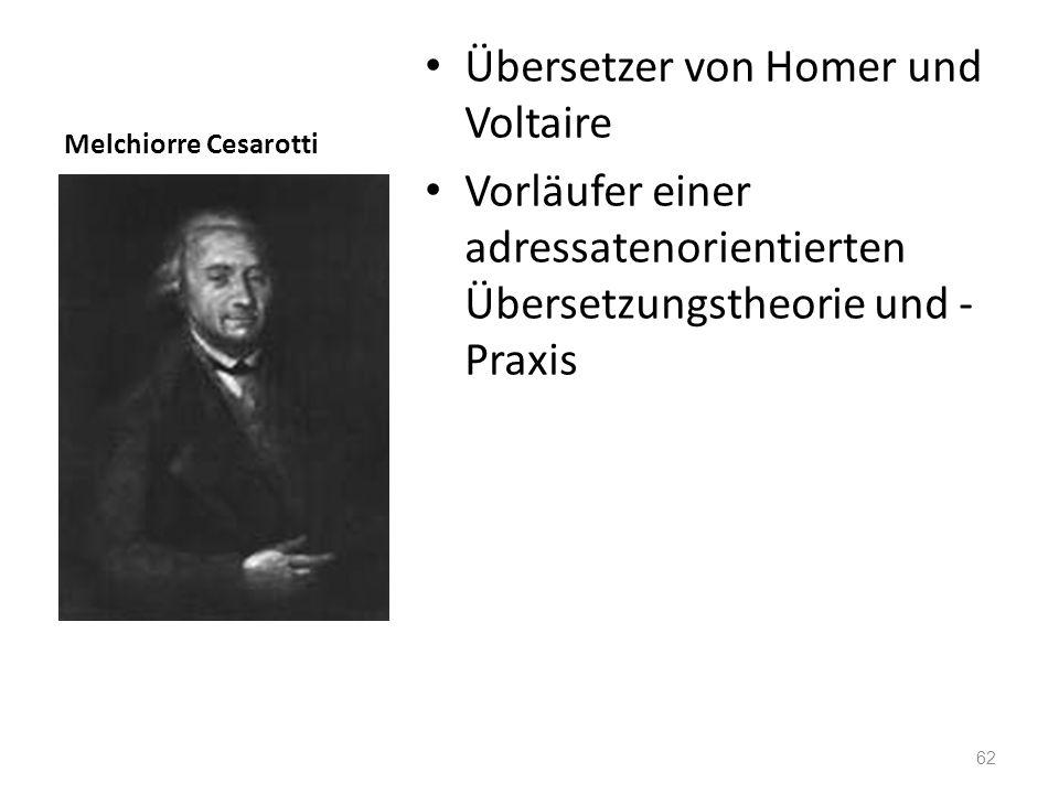 Übersetzer von Homer und Voltaire