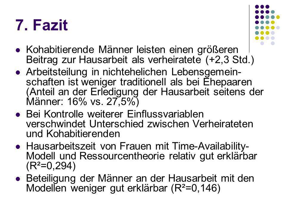 Empirische Studien über innerfamiliäre Arbeitsteilung - ppt herunterladen